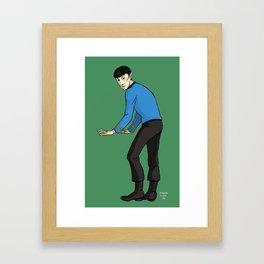 Star Trek TOS : Spock Framed Art Print