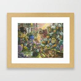 Chocolate Factory Framed Art Print