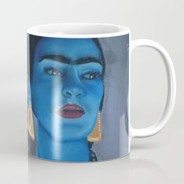 Blue Frida Coffee Mug