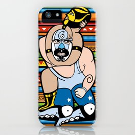 Lucha México iPhone Case