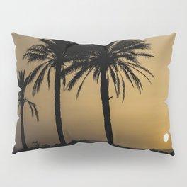 Santa Pola Sunset Pillow Sham