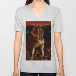 City of Dis - Alighieri - Unisex V-Neck
