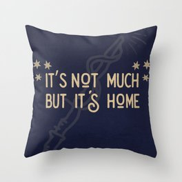 But Its Home Potter Claw Throw Pillow