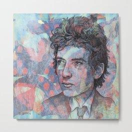Bob Dylan - Mr. Tambourine Man Metal Print