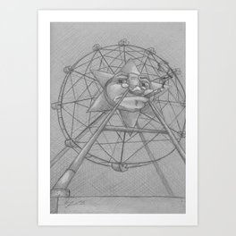 Large and in Charge Art Print