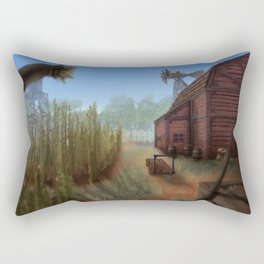 Small Farm Rectangular Pillow