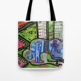 Blue Guy Tote Bag
