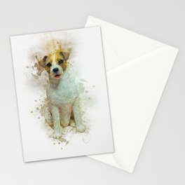 Jack Russell Stationery Cards