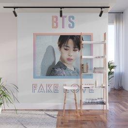 BTS Fake Love Design - Jimin Wall Mural