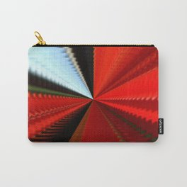 Sunny interval in red tunnel Carry-All Pouch