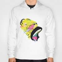 homer Hoodies featuring Homer 1. by Huxley Chin