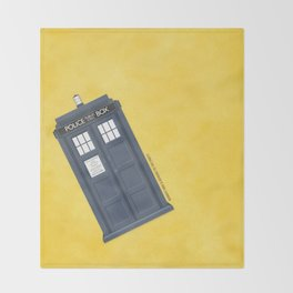 9th Doctor - DOCTOR WHO Throw Blanket