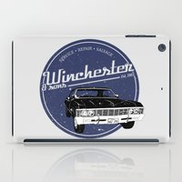winchester iPad Cases featuring Winchester & sons by mostly10