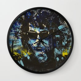 Tangled Up in Blue Wall Clock