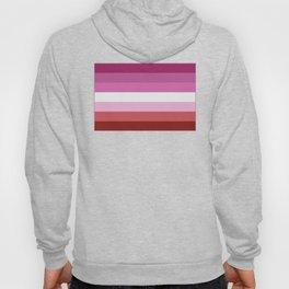Lesbian Flag Hoody