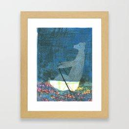 The Crystal Sea Framed Art Print