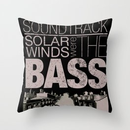 Silence was the soundtrack Throw Pillow