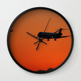 Airliner25 Wall Clock