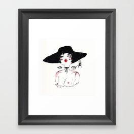 Bernadette Framed Art Print