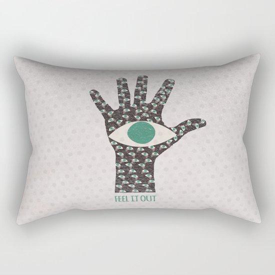Feel It Out Rectangular Pillow