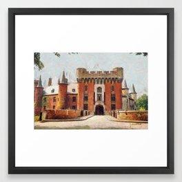 Wijnendaele Castle - Belgium Framed Art Print