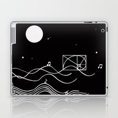 between sound and silence Laptop & iPad Skin