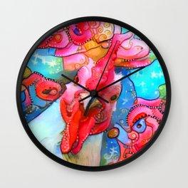 I Am Watching You Wall Clock