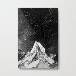 mont gore - mountain and star Metal Print