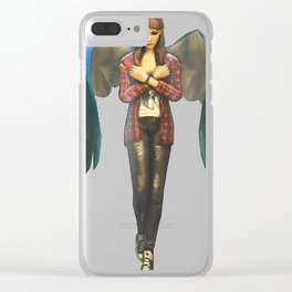 Rachel Amber Angel Clear iPhone Case