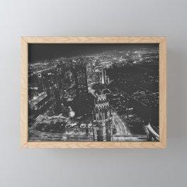 City of lights Framed Mini Art Print