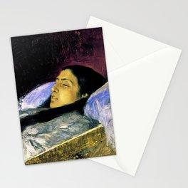 Miss Del Castillo On Her Deathbed - Digital Remastered Edition Stationery Cards