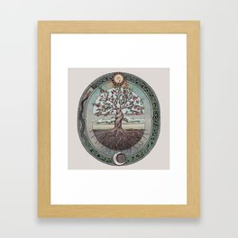 Origins Tree of Life Framed Art Print