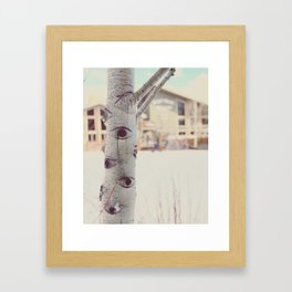 Aspen Tree Jackson Hole Mangy Moose Framed Art Print