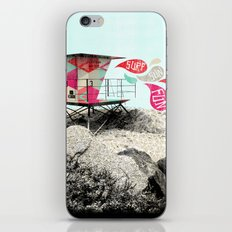 SURF.SUN.FUN. iPhone & iPod Skin