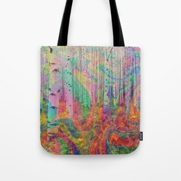 Hipster Forest Tote Bag