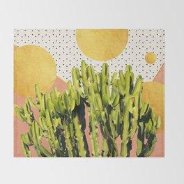 Cactus Dream #society6 #decor #buyart Throw Blanket