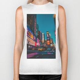 City Lights NYC (Color) Biker Tank