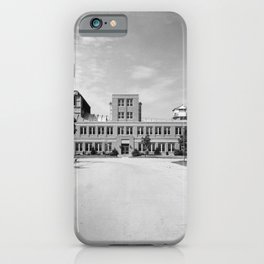 16 Foot High Speed Tunnel iPhone Case
