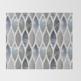 Metallic Armour Throw Blanket