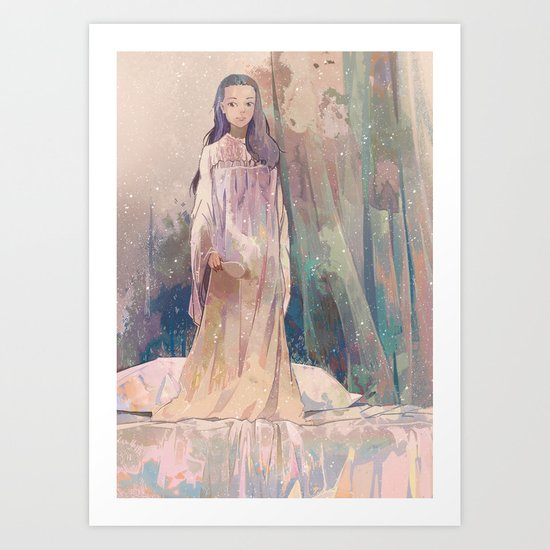 Negligee Art Print