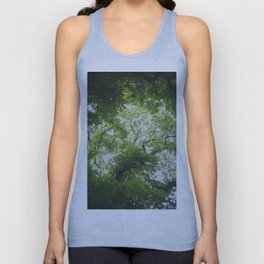 Up in the Trees Above Unisex Tank Top