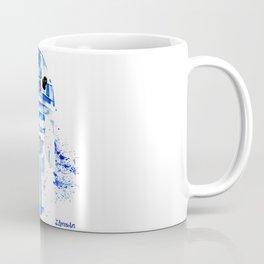 R2 droid space Wars Scifi Watercolor Coffee Mug