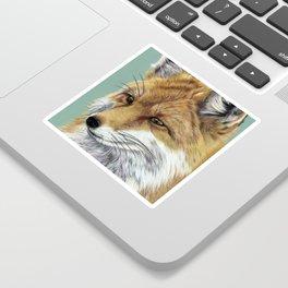 Fox Portrait 01 Sticker