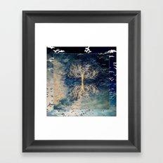 Cosmic Tree II Framed Art Print