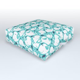 Whale Of A Time Outdoor Floor Cushion