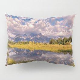 The Grand Tetons Autumn OLena Art Fall Colors Photography Pillow Sham