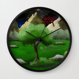 Coming Around the Mountain Wall Clock