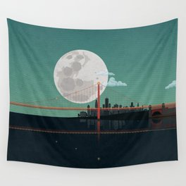SAN FRANCISCO Wall Tapestry