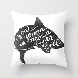 Terror of the Deep Throw Pillow