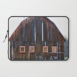 Rustic Old Country Barn Laptop Sleeve